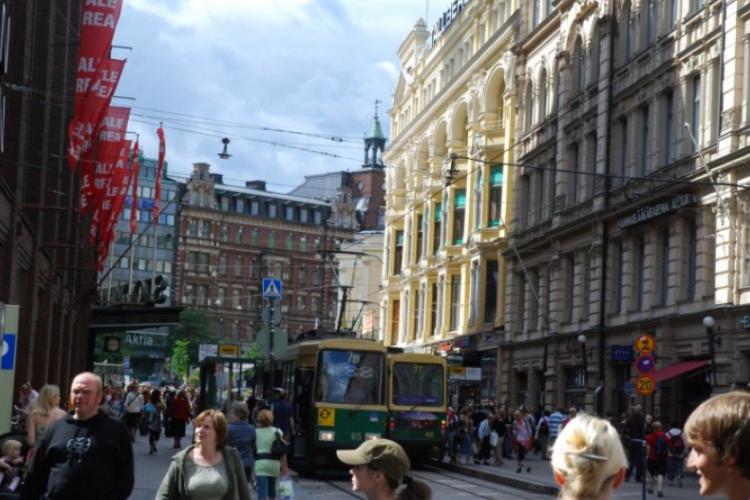 Helsinki pieszo