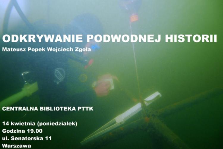 Odkrywanie zatopionej historii - plakat