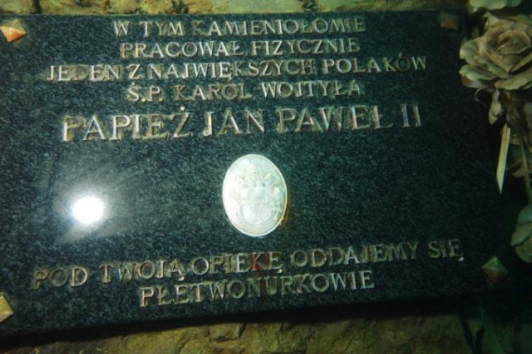 Zakrzówek 2009 - tablica pamiątkowa
