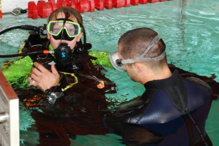 Praktyka na basenie