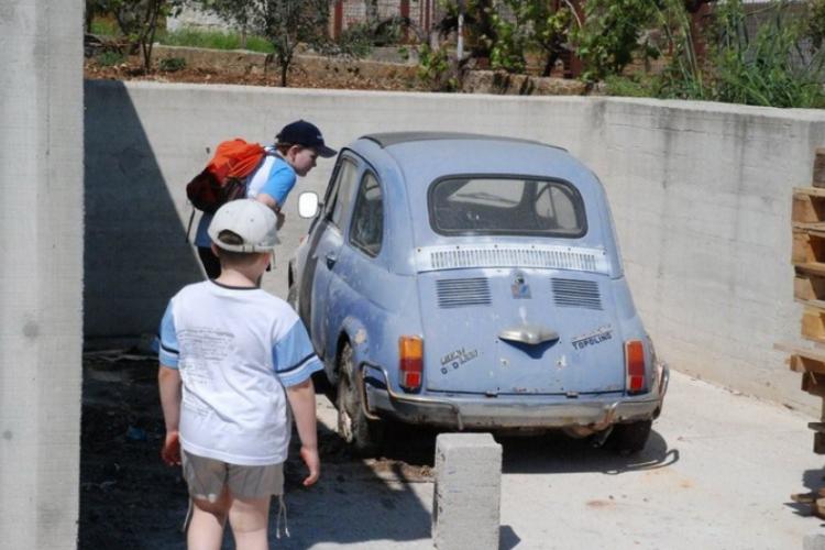 Stary Fiat 500