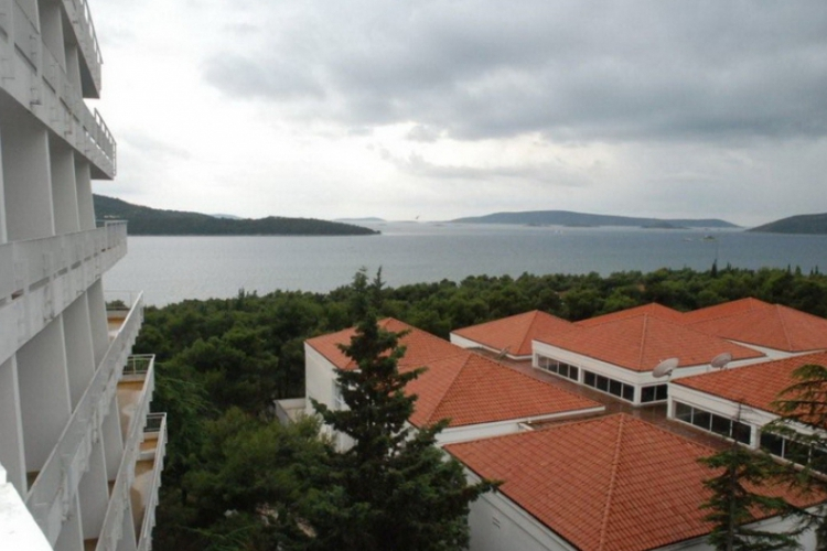 Widok z okna naszego hotelu