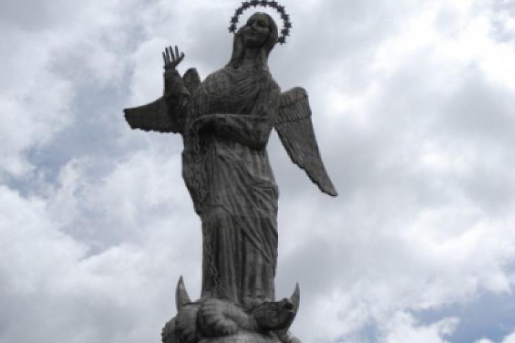 Matka Boża Anielska opiekuje się Quito - stolicą Ekwadoru