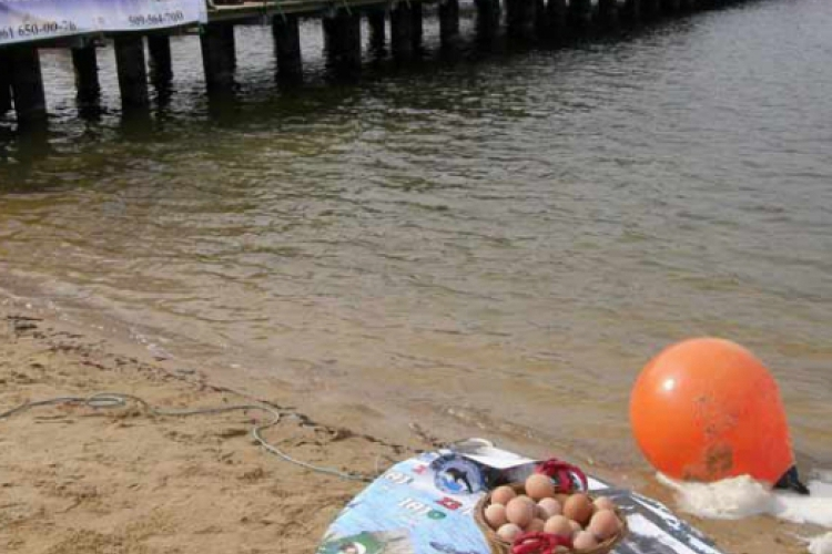Nurkowanie z jajem 2010 fot. Beata Janicka z Klubu Nautica