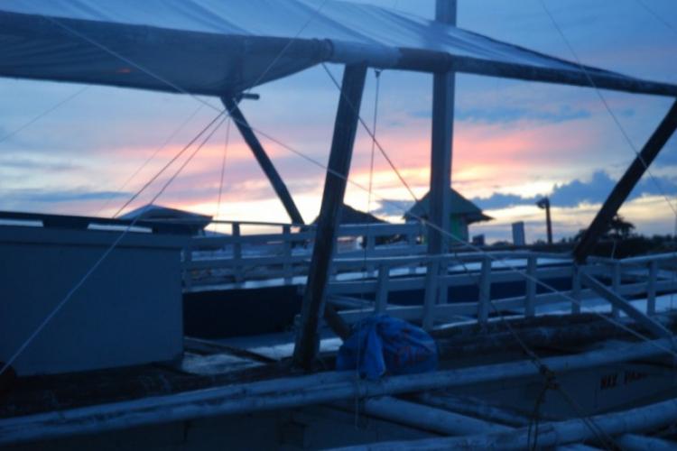 Zachód słońca pierwszego dnia