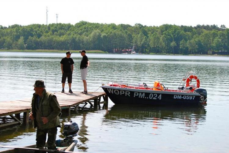 Czyścimy Jezioro Dominickie 2012