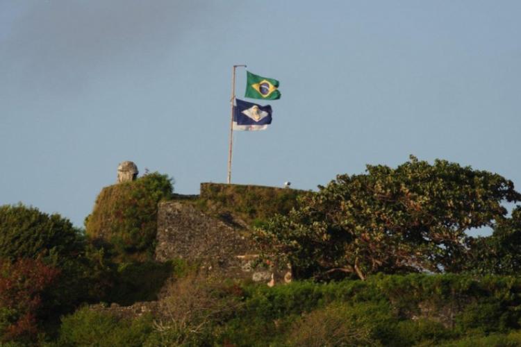 Fernando de Noronha - flaga Brazylii, autor: Wojciech Jarosz