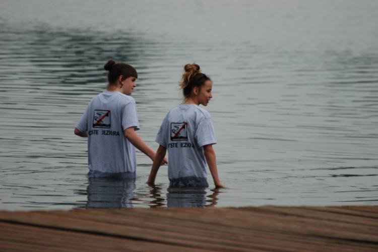 Czyścimy Jezioro Dominickie 2014