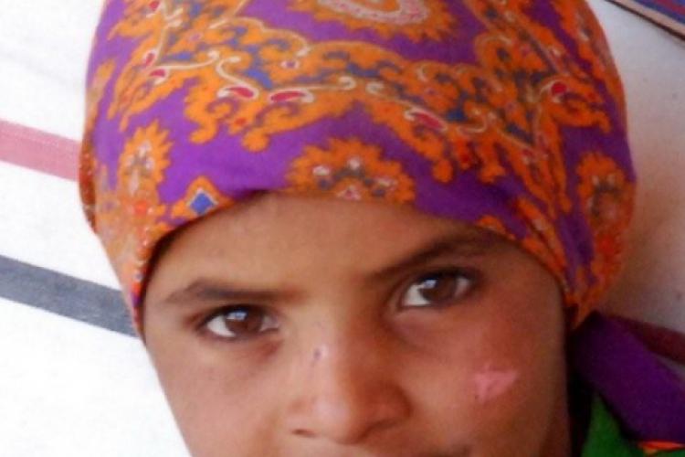 najstarsza Beduinka nie musi jeszcze zakrywac twarzy