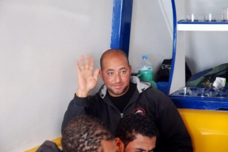 Jeden z naszych dive-masterów, Egipcjanin