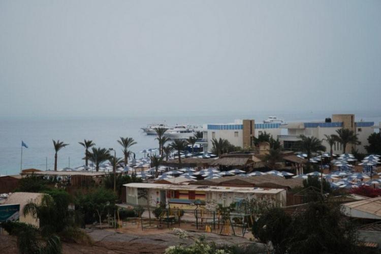 Widok z dachu naszego hotelu