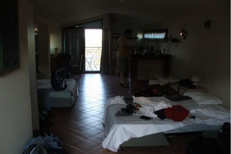 Rzut na pokój (zdjęcie Adama)