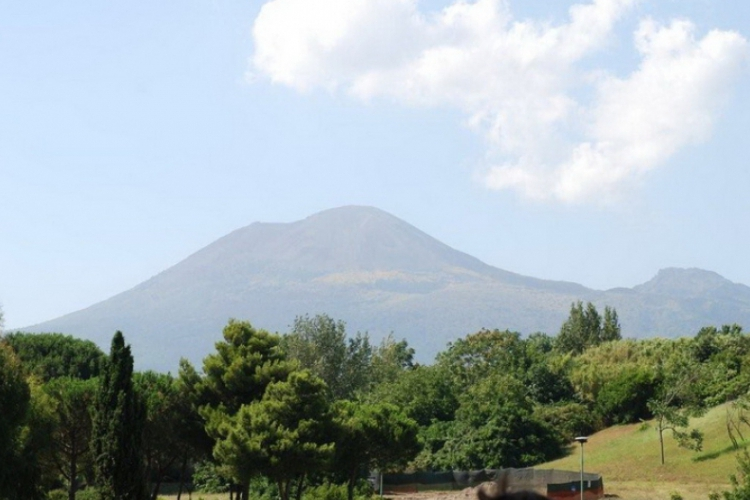 Sprawca zalania Pompei