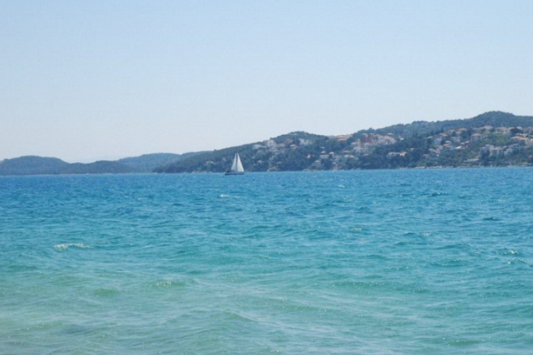 Adriatyk z wybrzeża