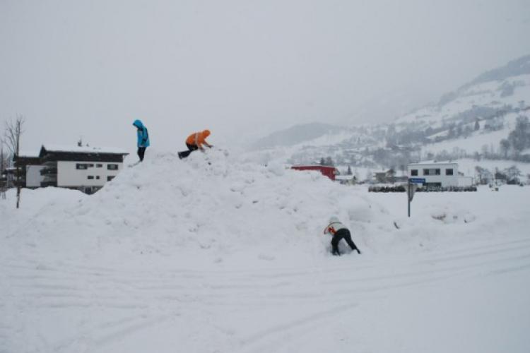 Niederstill, góra śniegu