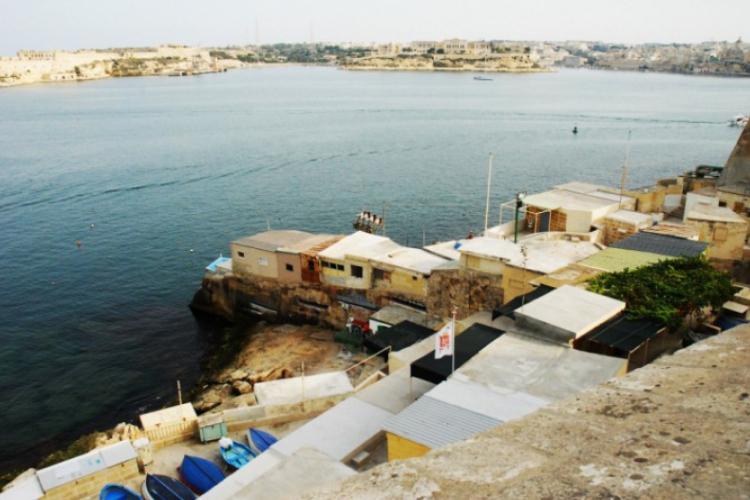 Domostwa biedniejszych mieszkańców wyspy