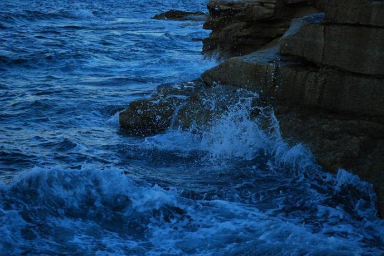 Skały i morze