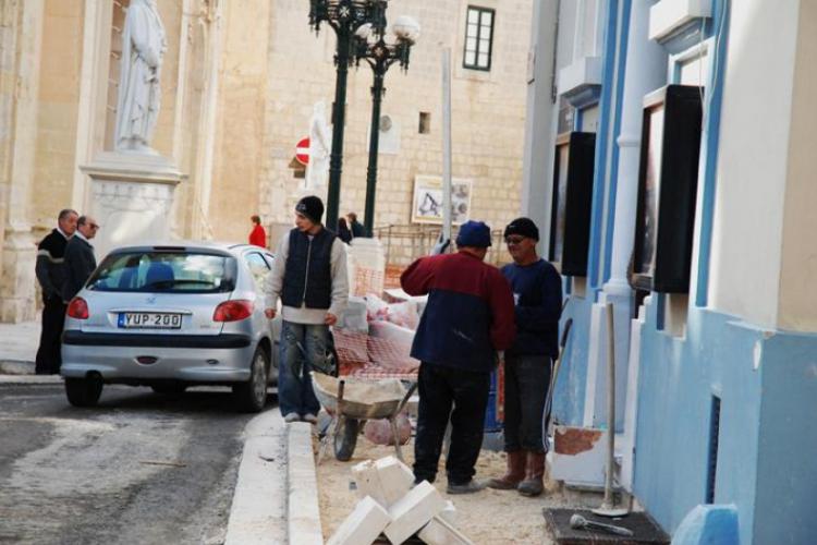 Remont drogi przy kościele Św. Pawła