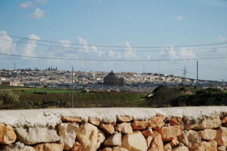 Widok na miasto Mosta