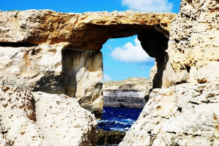 Azure Window na Dwejra Point