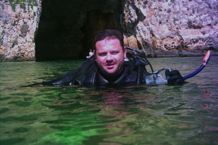 Koniec nurkowania, jeziorko Dweira Point