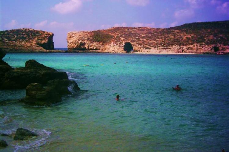 Błękitna Laguna - kąpiel