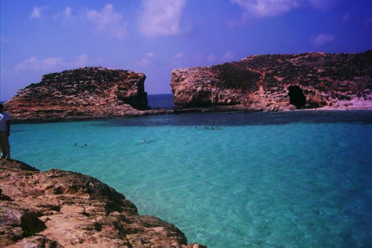 Błękitna Laguna na Comino