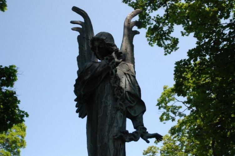 Anioł w zerwanych kajdanach