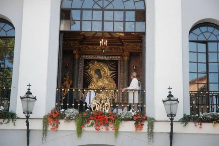 Kapliczka nad bramą