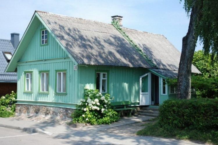 Typowy dom Karaimów