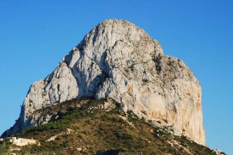 Penon de Ifach, symbol Costa Blanca, wysokość 332m