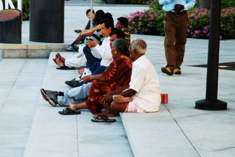 Odpoczynek po hindusku