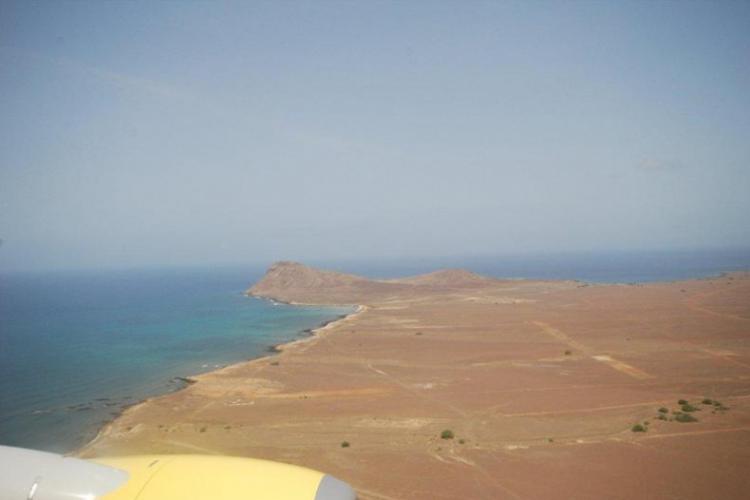 Capo Verde, zaraz lądujemy