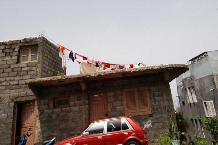 Domy na wsi Fogo