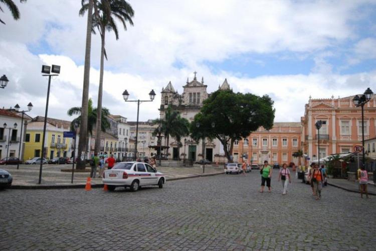 Główny plac kolonialnej części Salvadoru