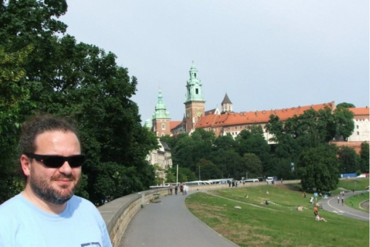 Zakrzówek 2009 - Autor w Krakowie - zdjęcie Adama