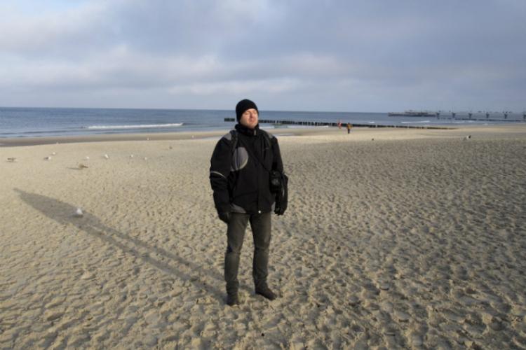 Grudniowy Bałtyk