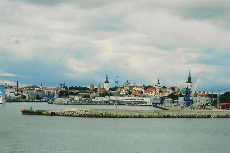 Tallin z morza