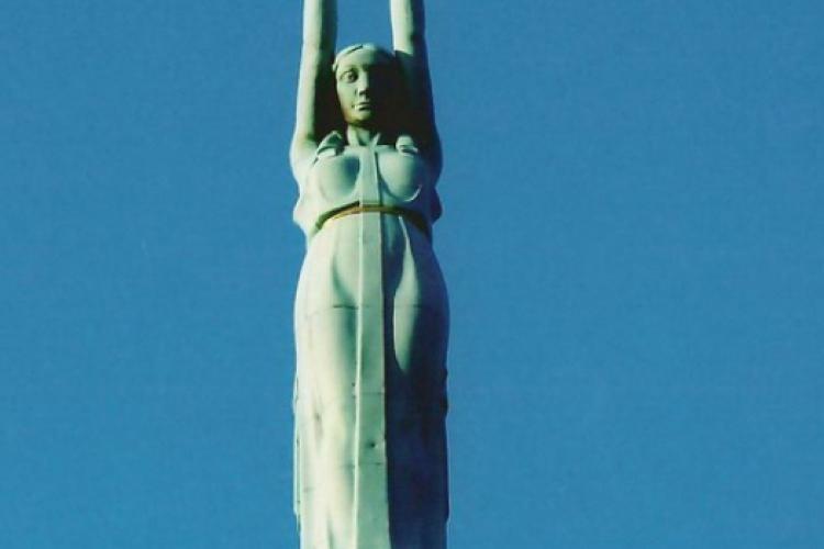 Pomnik wolności - zbliżenie