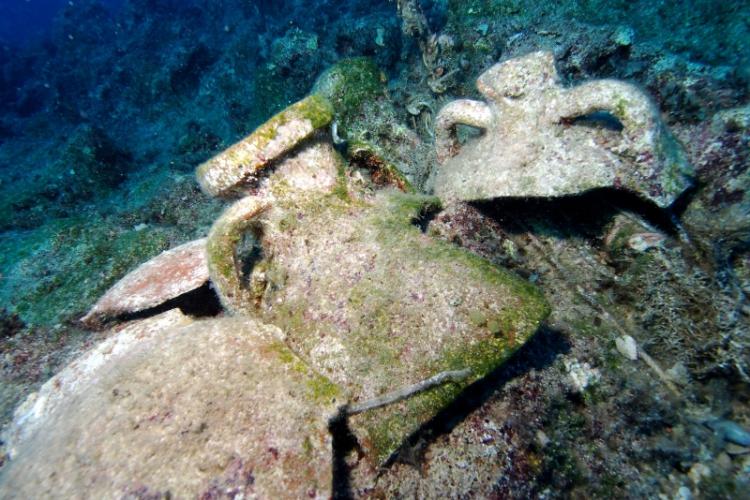 Nigdy nie badane fragmenty amfor Cypr Północny
