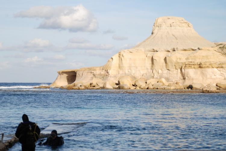 Gdzie warto nurkować na Gozo